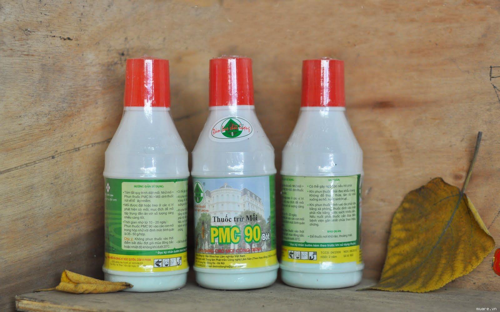 Hướng dẫn sử dụng thuốc diệt mối PMC 90 1